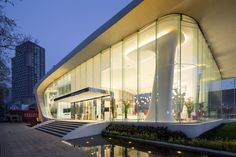 Gallery of Haishang Plaza Sales Center / Amphibian Arc - 7