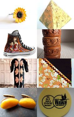 GabriellesCreations Friday Finds in YELLOW by Gabbie on Etsy #etsy #treasury #yellow #finds