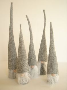 DIY Nordic inspired Christmas gnomes