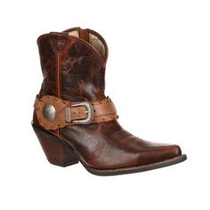 Crush by Durango Womne's Spur Strap Demi Western Boot Style #DCRD173 Durango Boots Company