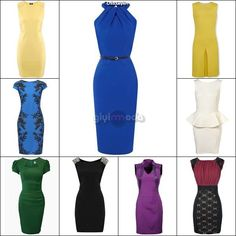 office style key pieces - pencil dress =>http://www.giyimvemoda.com/bayan-ofis-kiyafetleri-ve-temel-parcalar.html