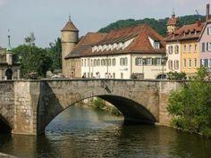 Schwabisch Hall: One of the Castle Road's Most Attractive Villages: Schwabisch Hall, Germany