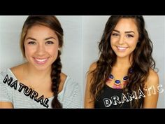 ▶ Two Back to School Makeup Looks! - YouTube
