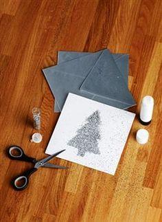 cute DIY Christmas card - buzzle