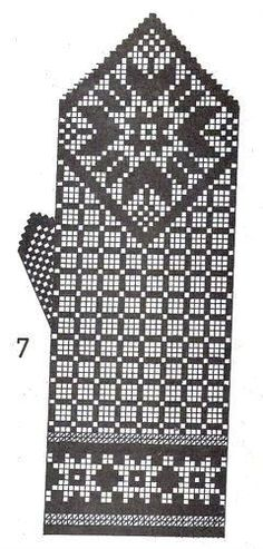 Knitting Charts, Knitting Stitches, Knitting Patterns, Knitted Mittens Pattern, Knit Mittens, Free Images For Blogs, Norwegian Knitting, Diagram Chart, Fingerless Mittens