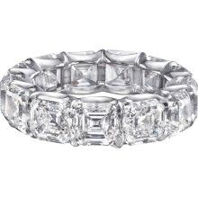 Ascher cut eternity band for 20th anniversary...just a couple more years...this will do :)