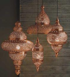 Marokkanische Lampen im Berberstyle! Super um ein wenig orientalischen Touch in den Raum zu bringen!