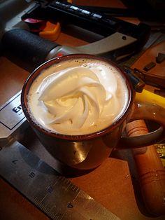 Love my Café Con Leche with Whip Cream