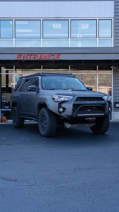 Customer came in wanting to level up his custom-vinyl-wrapped Toyota First, for a fresh look and extra protection, we. Toyota Trucks, Lifted Ford Trucks, Jeep Truck, Toyota 4runner Trd, Toyota Tacoma, 4runner Accessories, Electric Winch, 4x4 Off Road, Bugatti Veyron
