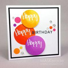 CTS222 - Happy Birthday   MASKerade   Bloglovin'