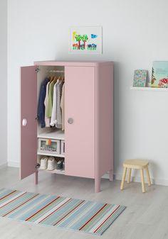 Blush Nursery Inspiration - Rock My Style Ikea Wardrobe, Wardrobe Furniture, Ikea Kids Room, Kids Bedroom, Small Bedroom Furniture, Kids Furniture, Childrens Wardrobes, Ikea Childrens Wardrobe, Ideas