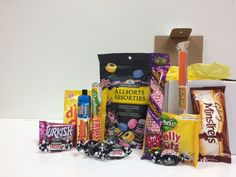 Here's a sample of what's inside our Old British Sweets monthly box. Galaxy Minstrels, Turkish Delight, Jelly Tots, Sherbet Fountain, DipDab, Rock, Millions, and more!