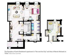 Fictional New York City Apartments Get Real
