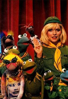 Debbie Harry on The Muppets…