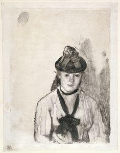 MoMA | Visites audio-guidées | Edgar Degas: A Strange New Beauty | 603 | Hilaire-Germain-Edgar Degas. Portrait of Ellen Andrée (Portrait de femme). 1876