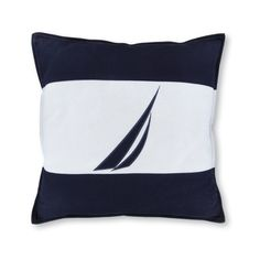 "Nautica J Class 18"" Crew Decorative Throw Pillow & Reviews 