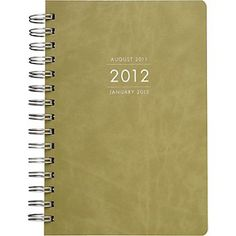 THE best planner you can get; recycled leather covers