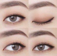 Koreanische Make-up-Tipps: Matte Lippenstifte können Korean Makeup Look, Korean Makeup Tips, Asian Eye Makeup, Korean Makeup Tutorials, Natural Eye Makeup, Korean Makeup Tutorial Natural, Asian Makeup Styles, Natural Makeup Tutorials, Korean Makeup Ulzzang