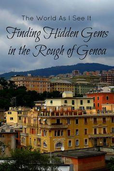 Finding Hidden Gems in the Rough of Genoa, Italy