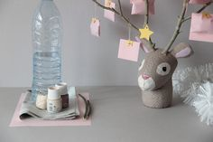 creer-calendrier-avent-diy-tete-renne-materiel Paper Glue, Paper Strips, How To Make Paper, Diy Creative Ideas, Advent Calenders