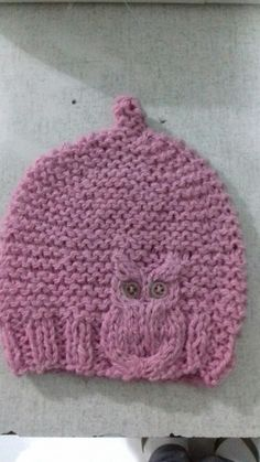 GORRO DE TRICO PARA UM BEBE DE 3 MESES Children Hats, Kids Hats, Crochet Hats, Ideas, Fashion, Tricot, Recipes, Beanies, Moda