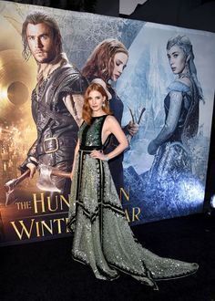 """Jessica Chastain at the premiere of """"The Huntsman: Winter's War."""" Photo: Kevin Winter/Getty Images"""