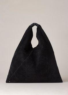 MM6 Maison Margiela Hobo Bag (Black)