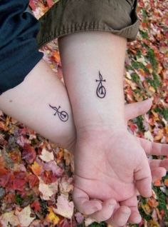 treble clef cross tattoo! might just be the first one of many!