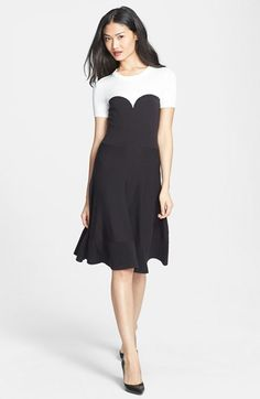 kate spade new york colorblock sweater dress available at #Nordstrom