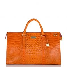 Brahmin Weekender- HOT!  I traveled with this to Atlanta and received a ton of compliments. #mybrahminstyle
