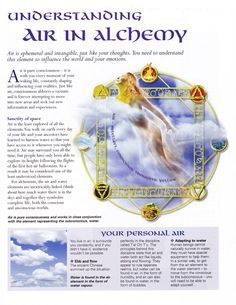 Elements Air:  Understanding #Air in Alchemy.