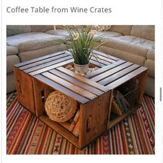 I really like this table.  Great storage and DIY project.