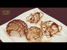Décors en caramel : coques et cheveux d'ange : la recette - 750 Grammes - YouTube