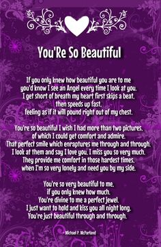 your beautiful poems for her Beautiful Poems For Her, Romantic Poems For Her, Cute Love Poems, You Are Beautiful Quotes, Love You Poems, Love Poem For Her, Qoutes About Love, Love Quotes For Her, Romantic Love Quotes