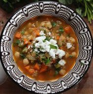 soup almond chicken soup with sweet potato collards and ginger almond ...