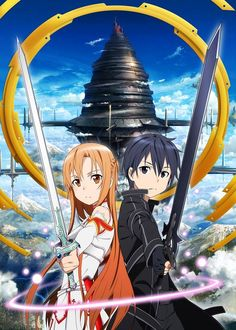 So, I just got addicted to this series on Hulu, called Sword Art Online. If you are a fan of Japanese anime, or want to try watching something new, I recommend checking it out. The graphics are beautiful, the plot very compelling; just know, after you watch the first few episodes, you won't want to stop! I watched the first 10 episodes straight before I absolutely had to stop... You have been warned! It's so awesome! EDIT: Season 2 has begun!