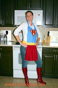 Super Mom Apron.