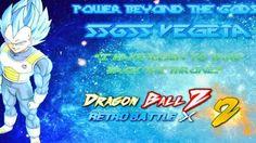 DragonBall Retro Battle X 2 Blue Hair Vegeta Transformation (Review)