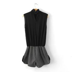 Buy 'JVL – Sleeveless Check-Panel Playsuit' with Free International Shipping at YesStyle.com. Browse and shop for thousands of Asian fashion items from China and more!