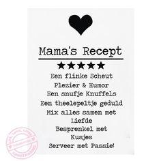 Afbeeldingsresultaat voor recept mama
