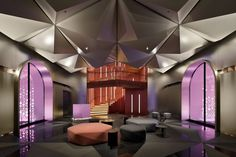 W Hotel, Treatment Rooms, Japan Design, Smooth Walls, White Ceiling, Facade Design, Ceiling Windows, Room Themes, Retail Design