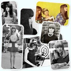 sixties hairstyles - fringes/bangs
