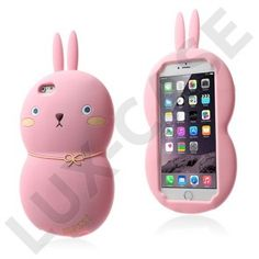 Fat Rabbit (Het Rosa) iPhone 6 Plus Skal