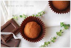 Marisa en la Cocina: Trufas de Chocolate a la Naranja
