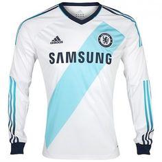 Chelsea 2012 13 Away Camiseta Fútbol Manga Larga  754  - €16.87   33ffd629d2c7a