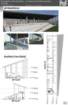 engelliler için yaşam merkezi projesi pafta 2