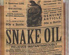 En référencement, ignorez les vendeurs d'huile de serpent.