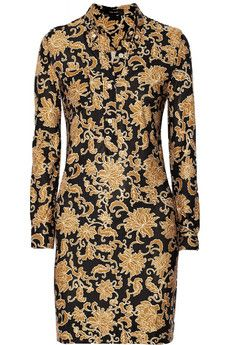 Isabel Marant Roma printed silk-jersey mini dress | THE OUTNET