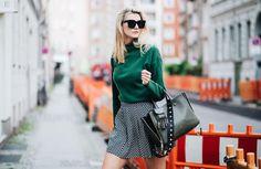 Great streetlook from kim in Berlin. Sweater by simone Cuntz
