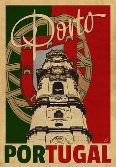 Vintage Stuff and Antique Designs Art Deco Posters, Vintage Travel Posters, A4 Poster, Portugal Travel, Visit Portugal, Vintage Advertisements, Retro Ads, Illustrations Posters, Images